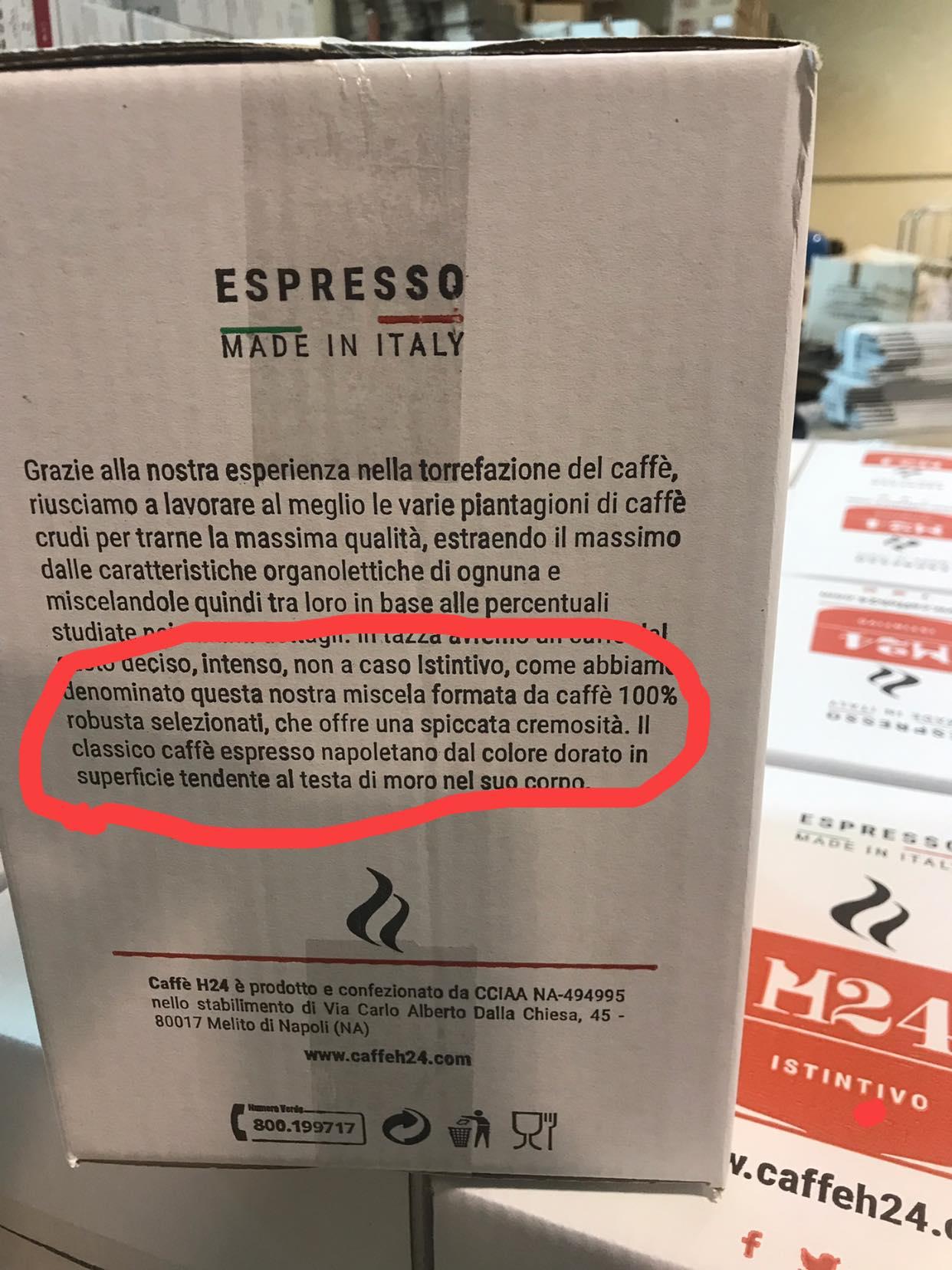 mercato del caffè verde